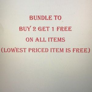 Other - Buy 2 get 1 free! Bundle for savings